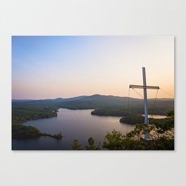 Scenic Cross Canvas Print