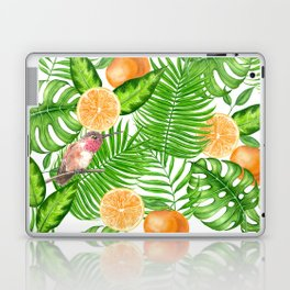 Tropical pattern, hummingbirds II Laptop & iPad Skin