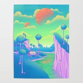 Planet Namek Poster
