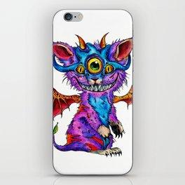 Fluffy Mind Creature  iPhone Skin