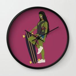 Anya Sugar Wall Clock