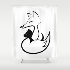 minima - guardian Shower Curtain