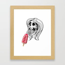 Brainfreeze Framed Art Print