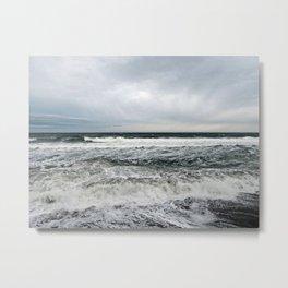 Pounding Surf Metal Print