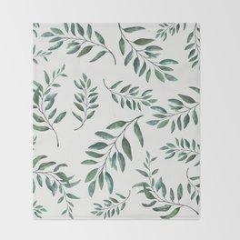 Leaves 3 Throw Blanket