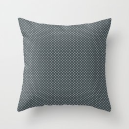 Magic Dust Muted Purple PPG13-24 Polka Dots on Night Watch PPG1145-7 Throw Pillow