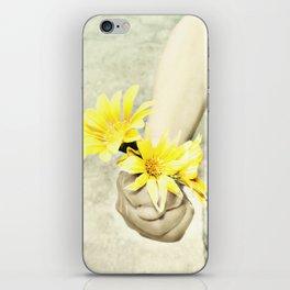 Grandmas Flowers iPhone Skin