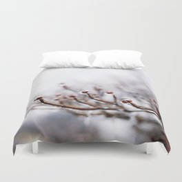 Icy Branches #2 Duvet Cover