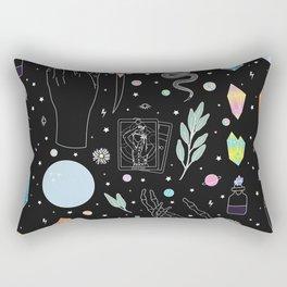 Crystal Witch Starter Kit - Illustration Rectangular Pillow