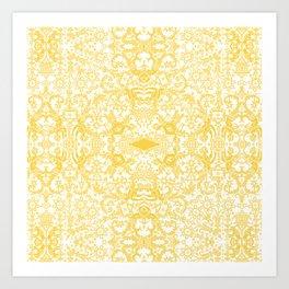 Lace Variation 07 Art Print
