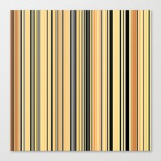High Society Vintage Rustic Glam Stripes 001 Canvas Print