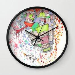 Insanely Crazy Wall Clock