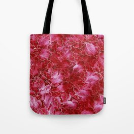 Frozen Leaves 24 Tote Bag