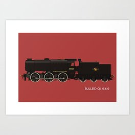 Bulleid Q1 0-6-0 Art Print