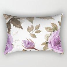 FLOWERS WATERCOLOR 9 Rectangular Pillow