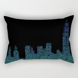 Midnight in NYC Rectangular Pillow