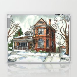 Victorian House in The Avenues Laptop & iPad Skin