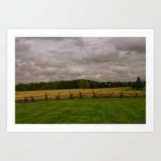 Advancing With Perfect Nonchalance Art Print