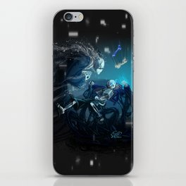Having a bad time iPhone Skin