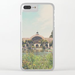 the botanical building ... Clear iPhone Case