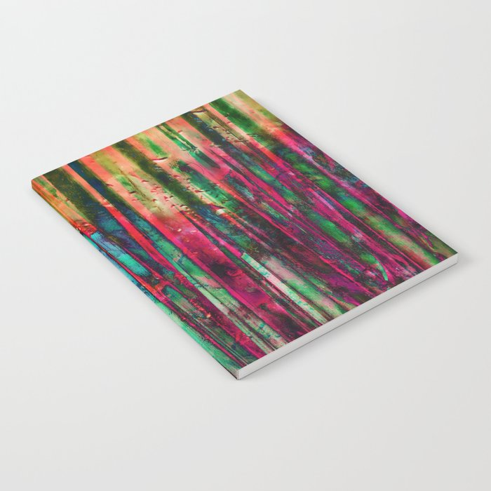 Colored Bamboo Notebook
