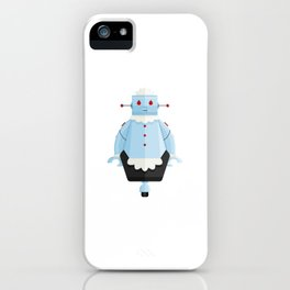Rosie The Robotic Maid Minimal Sticker iPhone Case