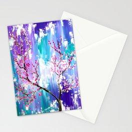 Cherry Blossom Trees Stationery Cards