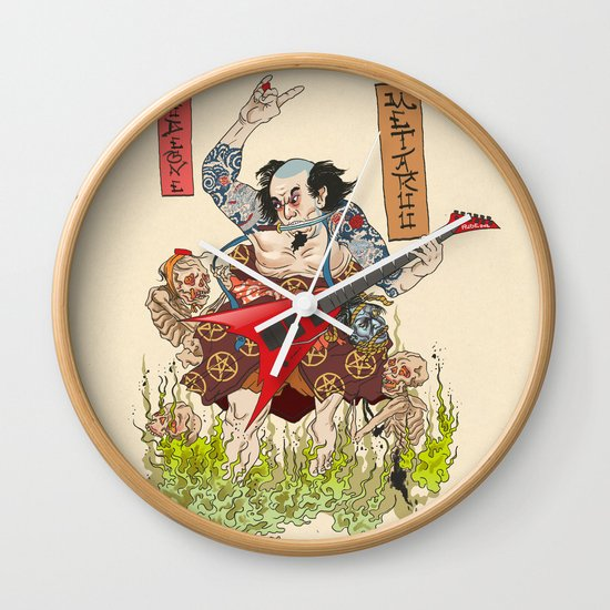 Metaruu! Wall Clock