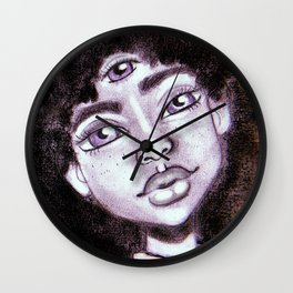 3rd Eye Open Wall Clock