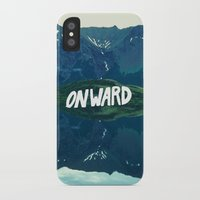 onward iPhone & iPod Cases featuring Onward by Good Sense