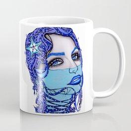 Sea Blue Mermaid Coffee Mug