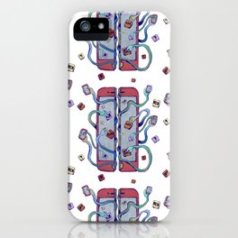 Handsy Smart Phone by Maisie Cross iPhone Case