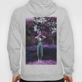 Girl in a Lavender World - Holga Film Photograph Hoody