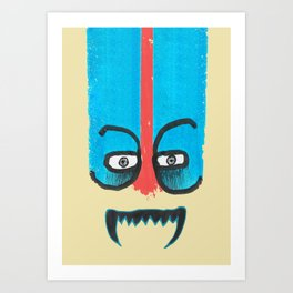 Hello teeth! Art Print