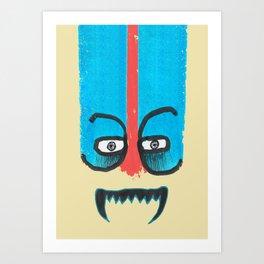 Hello teeth! Art Print