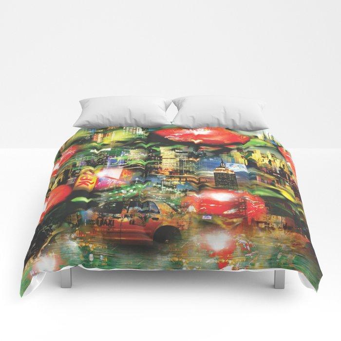 New Apple York Comforters
