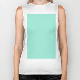 Simply Pure Turquoise Biker Tank