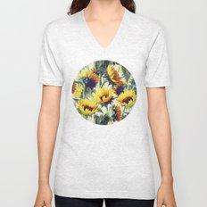 Sunflowers Forever Unisex V-Neck