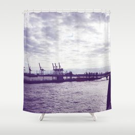 Harbour Shower Curtain