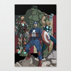 The Avengers: Earth's Mightiest Heroes Canvas Print