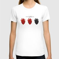 health T-shirts featuring Heart Health by Tanner Marshall
