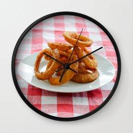 Onion Rings Wall Clock