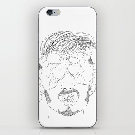 I'm grabbing your eyes baby ! iPhone & iPod Skin