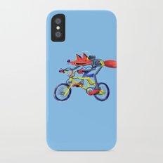 fox bike iPhone X Slim Case