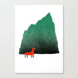 Man & Nature - Island #1 Canvas Print