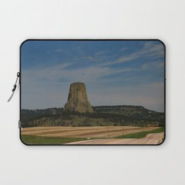 Road To Devils Tower Laptop Sleeve