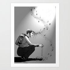 B&W No.9 Art Print