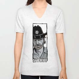Sheriff Unisex V-Neck