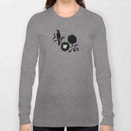 Arkansas - State Papercut Print Long Sleeve T-shirt