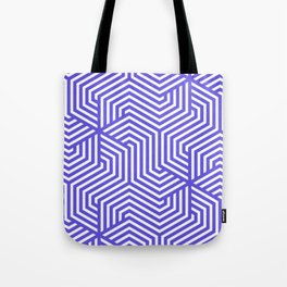 Majorelle blue - blue - Minimal Vector Seamless Pattern Tote Bag